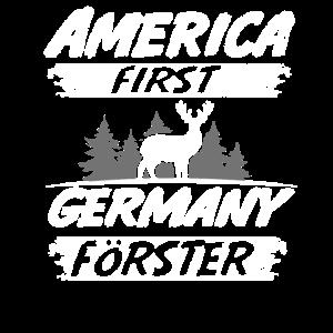 Förster Wald Baum Geschenk Spruch Witzig