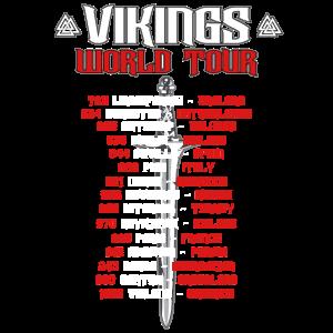 Vikings Wikinger World Tour Warrior die Raids