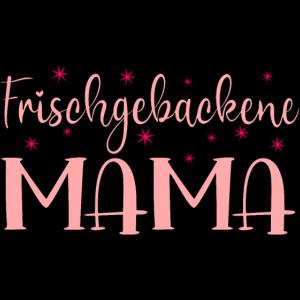 FRISCHGEBACKENE MAMA MUTTER WERDEN GEBURT BABY
