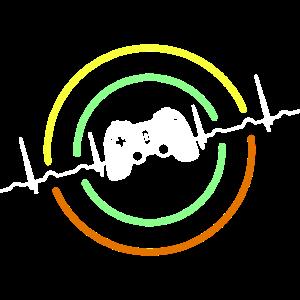 Herzschlag Kontroller Videospiele
