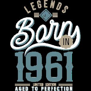 Legenden werden 1961 Geburtstag 60 Jahre geboren