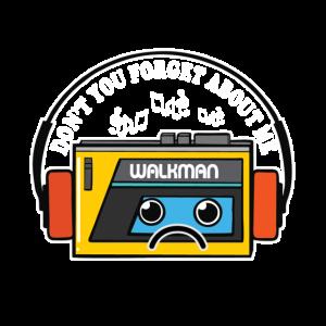 Walkman Fan Oldschool dont forget
