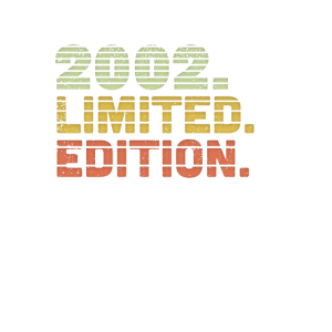 2002 Limited Edition 18. Geburtstag Geschenk