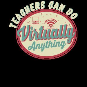 Retro Teachers Can Do Virtually Anything Teaching