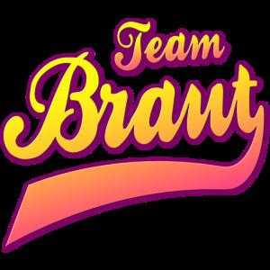 Team Braut Junggesellinnenabschied Gruppenshirt