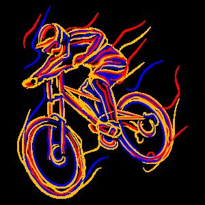 Mountainbike Mountainbiken Mountainbiker Downhill