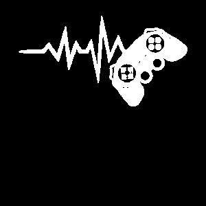 Videospiel-Liebhaber Heartbeat