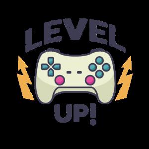 Level up! | Gamer Zocker Konsole