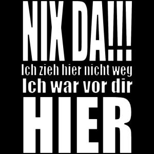 nix da Schwerin...Statement Shirt...