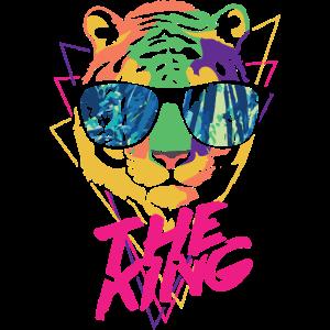 Tiger der König Fluo