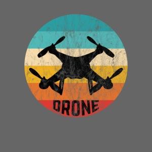 Retro Drohne Geschenke für Drohnenpiloten