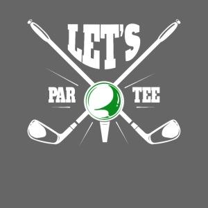 Golf Golfsport Geschenke lets par tee
