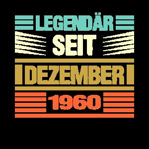 Legendär Seit Dezember 1960 Geburtstag Jahrgang Ge