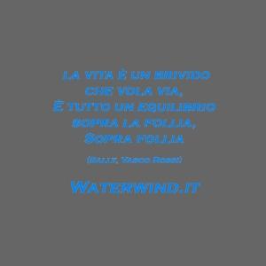 Sally Vasco rossi azzurro