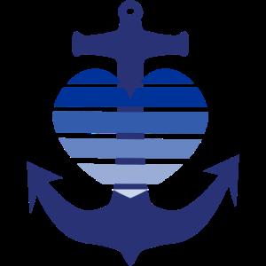 Anker Herz Maritim Meer Nordsee Geschenkidee