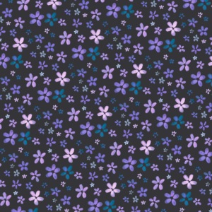Pattern piccoli fiori ad acquerello