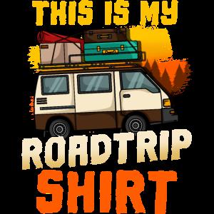 Roadtrip Wohnmobil Camping Camper Reise Retro