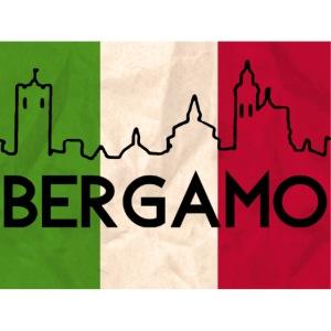 Bandiera tricolore Bergamo