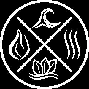 Die 4 Elemente - Feuer, Wasser, Erde, Luft