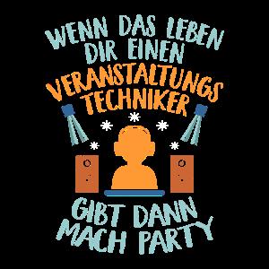 Party Veranstaltung Veranstaltungstechniker