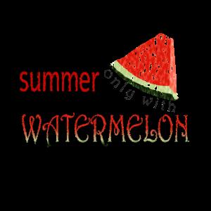 Sommerzeit, Zeit für Wassermelone