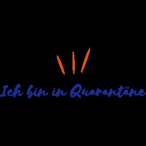 Ich bin in Quarantäne | Vectorgraphic