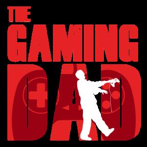 The Gaming Dad Papa Gamer Vatertag Vater Geschenk