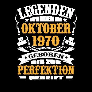 Geburtstagsgeschenk 50 Geburtstag Oktober 1970