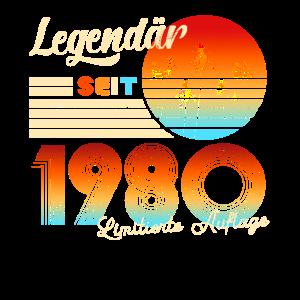 Männer 40. Geburtstag Legendär Seit 1980
