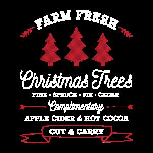 Farm Fresh Christmas Trees Weihnacht Lustig