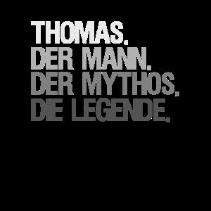 Thomas der Mann der Mythos die Legende