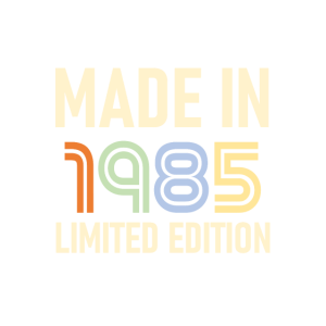 1985 JAHRGANG GEBURTSTAG