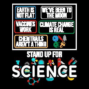 Stand Up for Science Lustige verschwörungstheorie