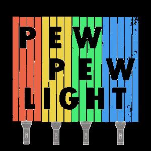 Pew Pew Light + Taschenlampe Vintage Design -Viral