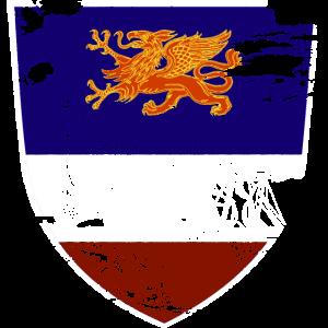Wappen Rostock Segelschiff Geschenkidee