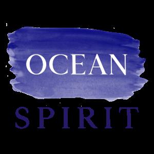 Blue Ocean Spirit - minimalistischer Pinselstrich