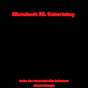 Gästebuch 30. Geburtstag zum unterschreiben T-shir
