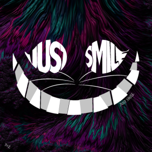 Just Smile Cat Poster