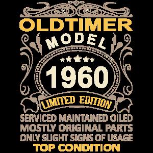 60. Geburtstag Oldtimer Jahrgang 1960