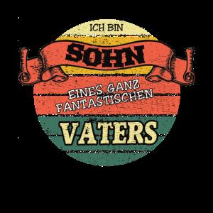 Vater + Sohn - Partnerlook -Bin Vater Eines Sohnes