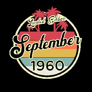 Vintage September 1960 60 Jahre Alt 60. Geburtstag