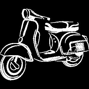 scooter motorbike sketching drawing symbol