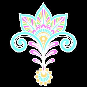 Pastellfarben Muster/ Mandala