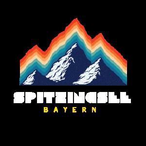 Retro Ski und Snowboard - Spitzingsee Bayern