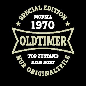 Oldtimer 50. Geburtstag Jahrgang 1970 Geschenkidee