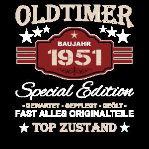 Oldtimer Baujahr 1951 - Opa Vintage