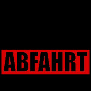 Techno Rave Abfahrt Party