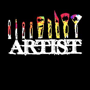 Ehrfürchtiger Künstler