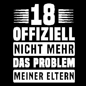 18. Geburtstag Design für einen 18-Jährigen