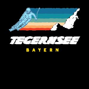 Retro Ski und Snowboard - Tegernsee Bayern